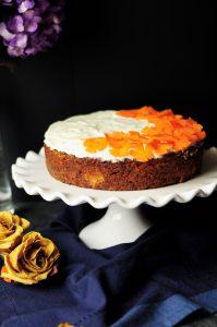 lactosevrije carrot cake