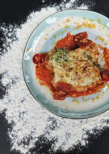 Lactosevrije Lasagna